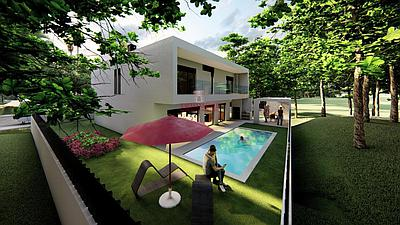 Excellent 4 bedroom villa under construction in Brejos de Azeitão