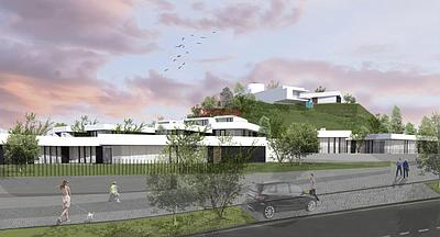 Villa with approved project, in the beginning of construction.